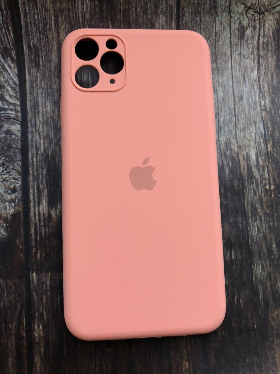"Чехол для iPhone 11 Pro  (silicon case - Full Cover) ""Персик - №27"""