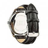 Часы Ziz Астра, ремешок насыщенно-черный, серебро и дополнительный ремешок SKL22-142648, фото 2