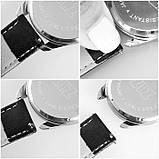 Часы Ziz Карта путешествий с дополнительным ремешком, ремешок небесно-голубой, серебро SKL22-228873, фото 5