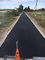 Строительство дорог асфальтобетонным покрытием местного назначения