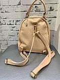 Кожаный женский городской рюкзак, фото 3