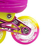 Роликовые коньки Nils Extreme розовые Size 39-42 NA1005A SKL41-227275, фото 7