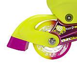 Роликовые коньки Nils Extreme розовые Size 39-42 NA1005A SKL41-227275, фото 9