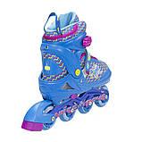 Роликовые коньки Nils Extreme синие Size 30-33 NJ4613A SKL41-227308, фото 3