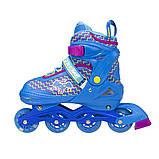 Роликовые коньки Nils Extreme синие Size 30-33 NJ4613A SKL41-227308, фото 6
