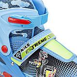 Роликовые коньки Nils Extreme синие Size 34-37 NJ4605A SKL41-227320, фото 2