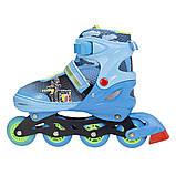 Роликовые коньки Nils Extreme синие Size 34-37 NJ4605A SKL41-227320, фото 8