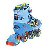 Роликовые коньки Nils Extreme синие Size 38-41 NJ4605A SKL41-227321, фото 10
