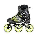 Роликовые коньки Nils Extreme черно-зеленые Size 40 NA1206 SKL41-227576, фото 3