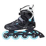 Роликовые коньки Nils Extreme черно-синие Size 37 NA5003S SKL41-227344, фото 5