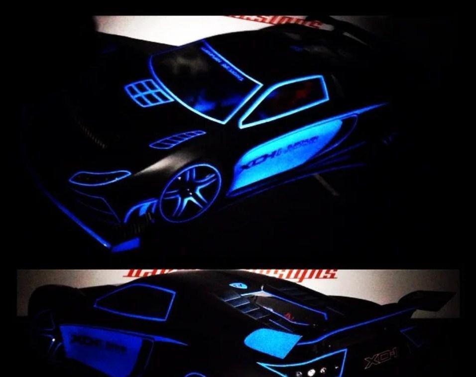 Светящийся порошок люминесцент синий в темноте и на свету Просто и Легко 500г SKL12-241421