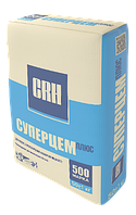 Цемент CRH М500 Суперцем Плюс (Д-20)  25 кг./Розница