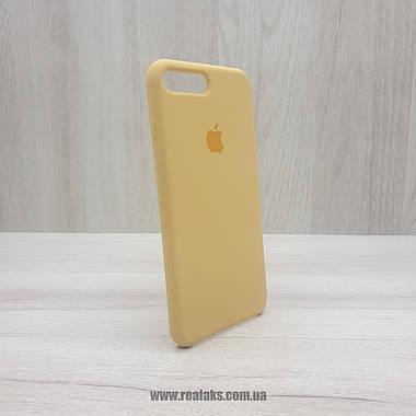 Чехол Silicone Case для Apple iPhone 7/8 Plus gold, фото 2