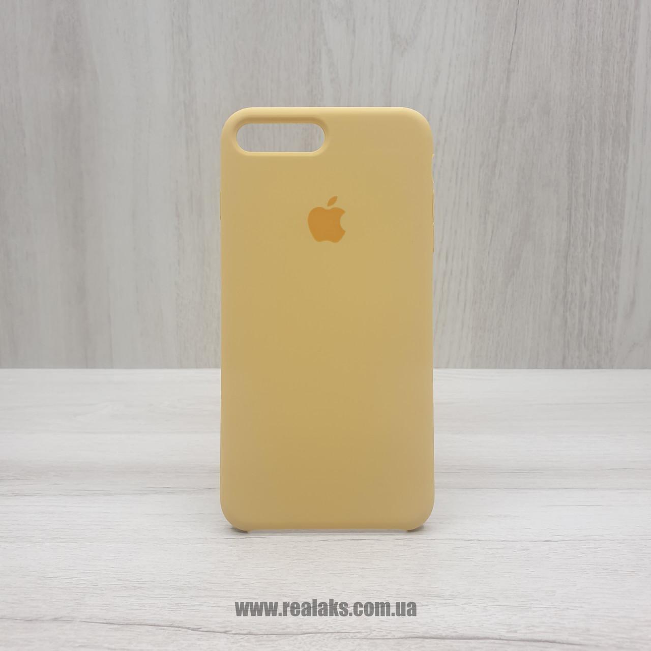 Чехол Silicone Case для Apple iPhone 7/8 Plus gold
