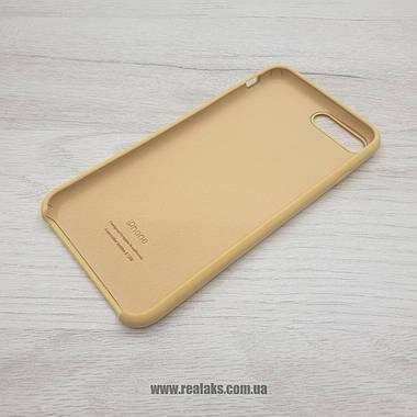 Чехол Silicone Case для Apple iPhone 7/8 Plus gold, фото 3