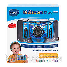 Детская цифровая камера Vtech Kidizoom Camera DUO 5.0 Deluxe Blue