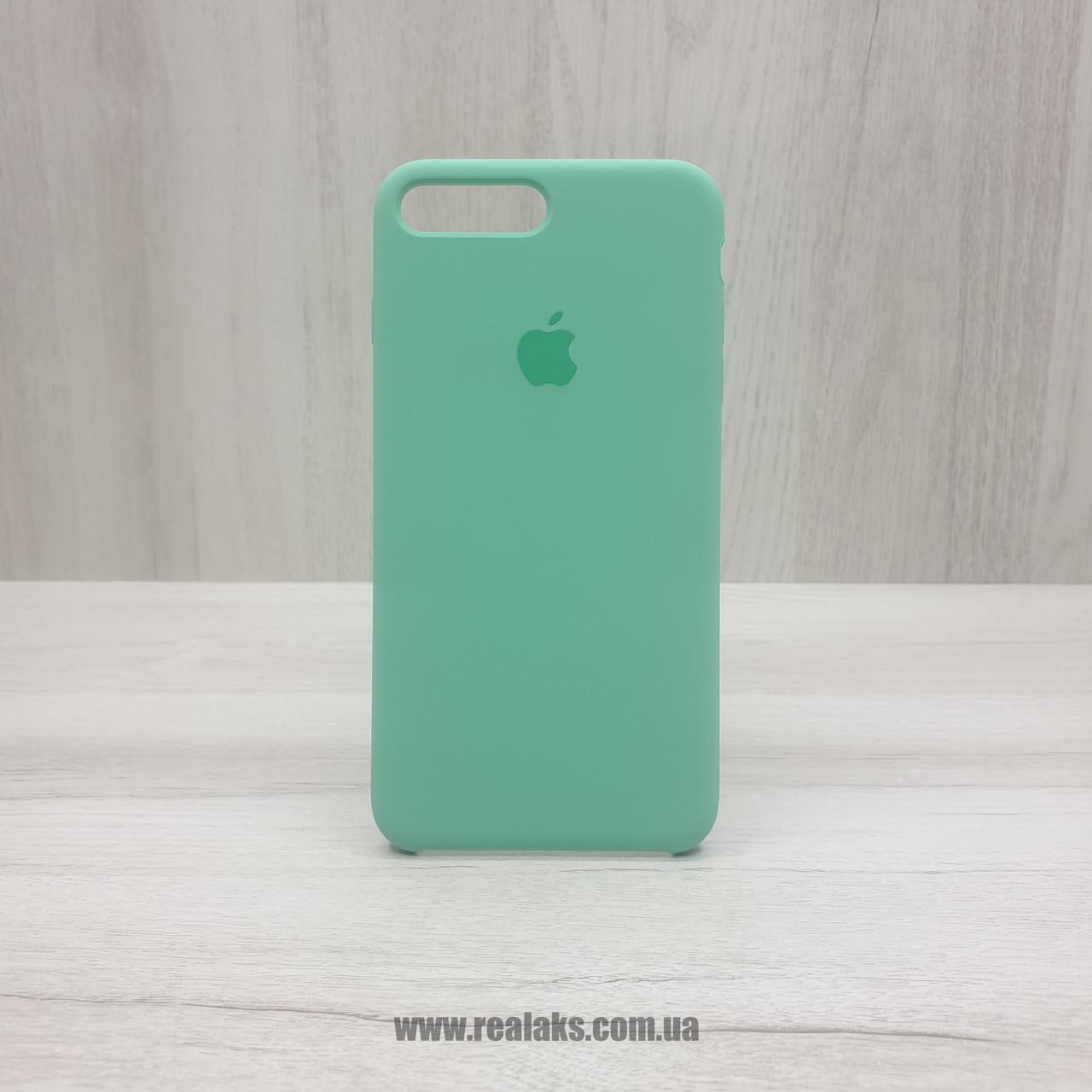 Чехол Silicone Case для Apple iPhone 7/8 Plus spearmint