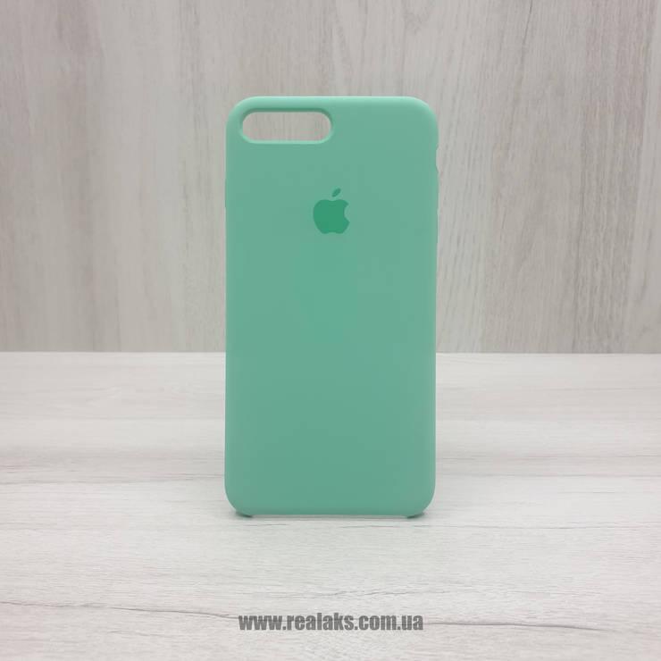 Чехол Silicone Case для Apple iPhone 7/8 Plus spearmint, фото 2