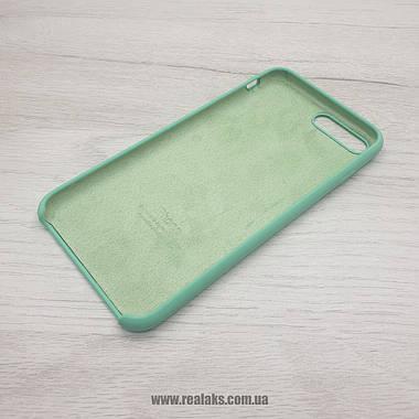 Чехол Silicone Case для Apple iPhone 7/8 Plus spearmint, фото 3