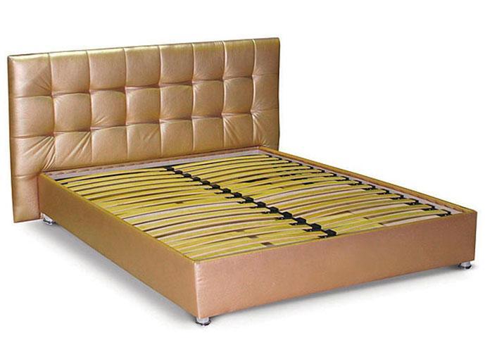 Кровать-подиум №4 с подъёмным механизмом, мягким изголовьем и нишей для белья ТМ Matroluxe