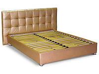 Кровать-подиум №4 с подъёмным механизмом, мягким изголовьем и нишей для белья ТМ Matroluxe, фото 1