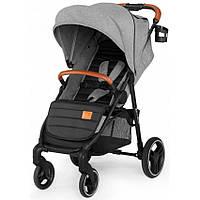 Детская прогулочная коляска Kinderkraft Grande LX Grey (Киндеркрафт)