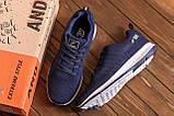 Мужские летние кроссовки сетка BS Blue Line Clasic, фото 10