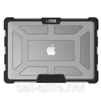 "Чехол для ноутбука UAG 15"" Macbook Pro Touch Bar (4th Gen) Plasma, Ice (MBP15-4G-L-IC)"