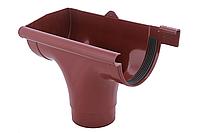 Зливоприймач лівий червоний Profil 90/75, фото 1