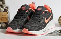 0400 Кроссовки Nike серого цвета с белой подошвой. 41 размер - 25 см по стельке, фото 1