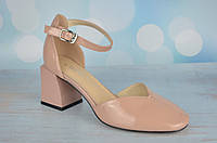 Розовые босоножки женские на каблуке Asttaly