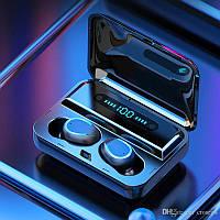 Беспроводные наушники TWS F9-5  Bluetooth  5.0  с цифровым зарядным PowerBank.