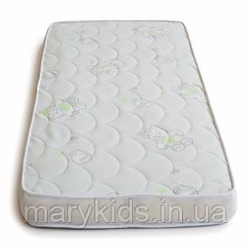 Матрас в детскую кроватку Twins Bear 120x60x10 латекс+поролон+кокос