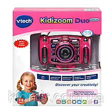Детская цифровая камера Vtech Kidizoom Camera DUO 5.0 Deluxe Pink