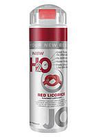 Красная Лакрица Гель смазка для секса лубрикант на силиконовой основе H2O Red Licorice 30мл. Orginal USA