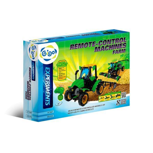 Конструктор Gigo Управляемые сельскохозяйственные машины (7447)