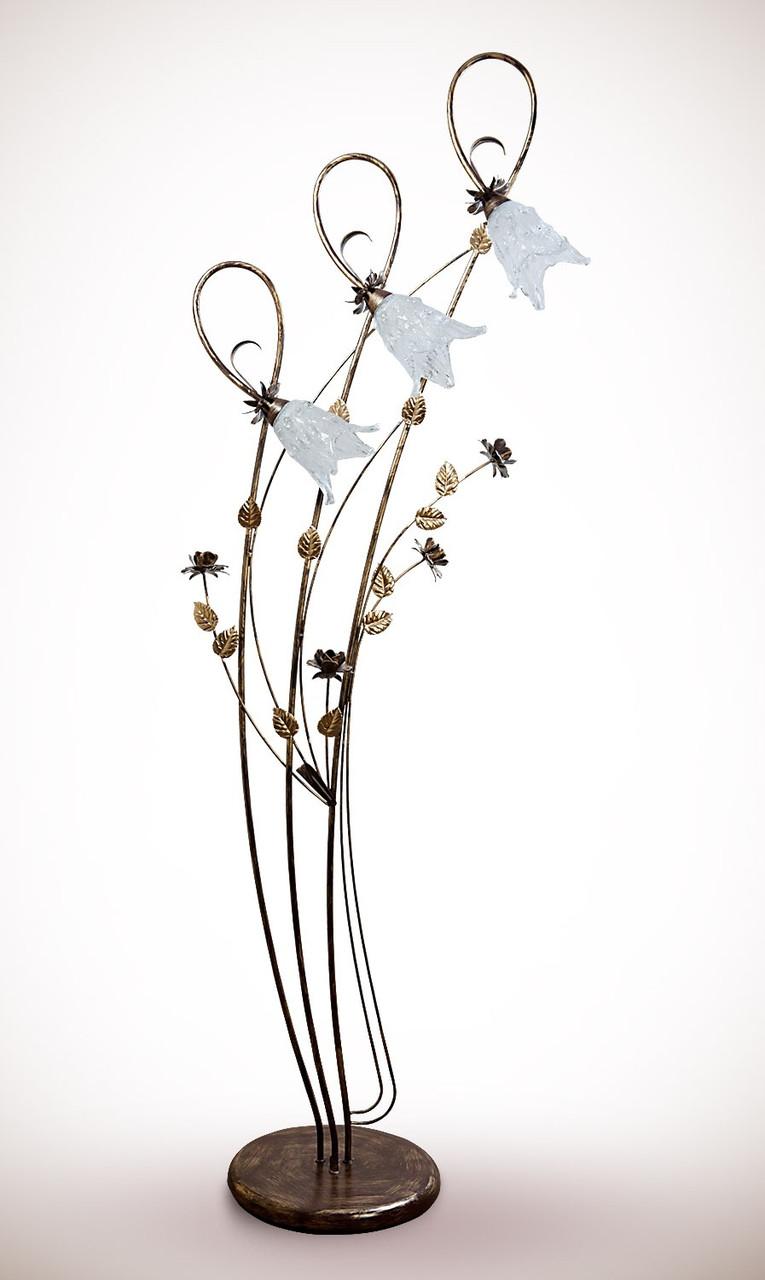 Торшер металлический флористика  1530-2