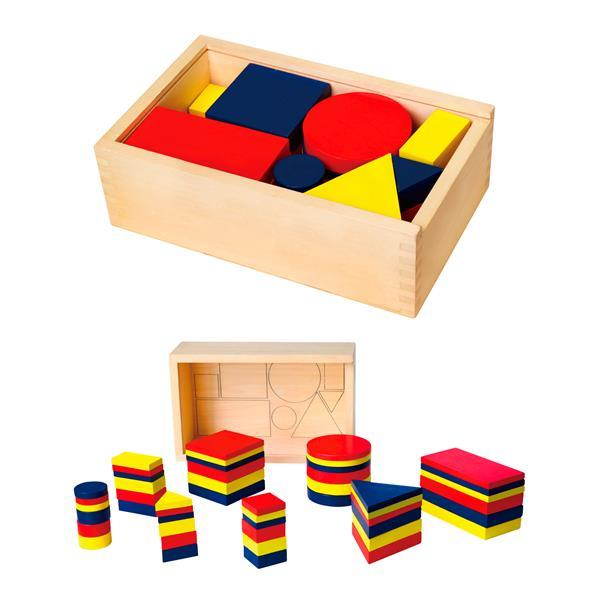 Обучающий набор Viga Toys Логические блоки Дьенеша (56164)
