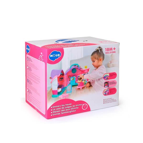Музыкальная развивающая игрушка Hola Toys Кукольный домик Эммы (3128B)