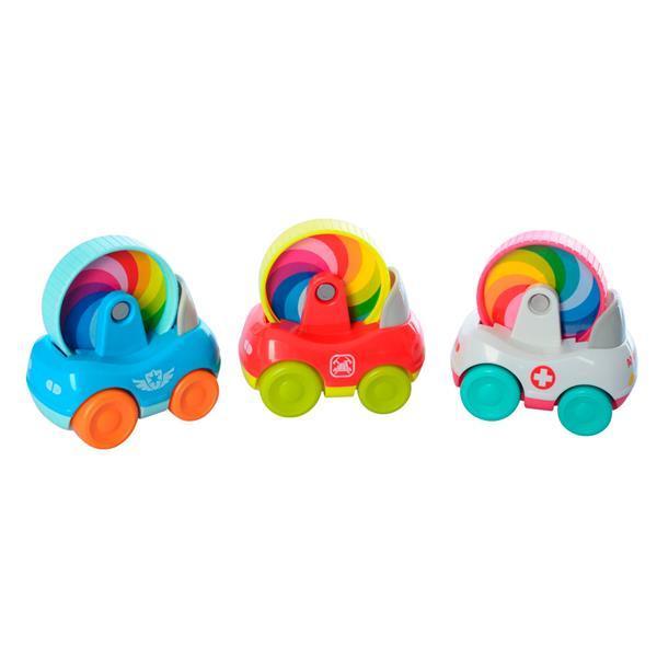 Набор игрушечных машинок Hola Toys Специальный транспорт, 3 шт. (3129B)