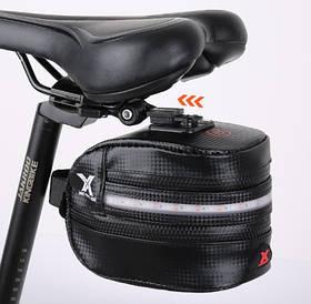 Водонепроницаемая велосумка с подсветкой BG-2503B