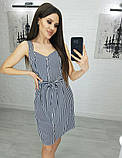 Женское летнее платье сарафан ткань софт на пуговицах размер: 42,44,46,48, фото 6
