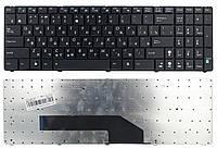 Клавиатура для ноутбука Asus K50C K50I K50ID K50IE K50IJ K50IL K50IN K50IP K50LJ черная (04GNV91KRU00-1)