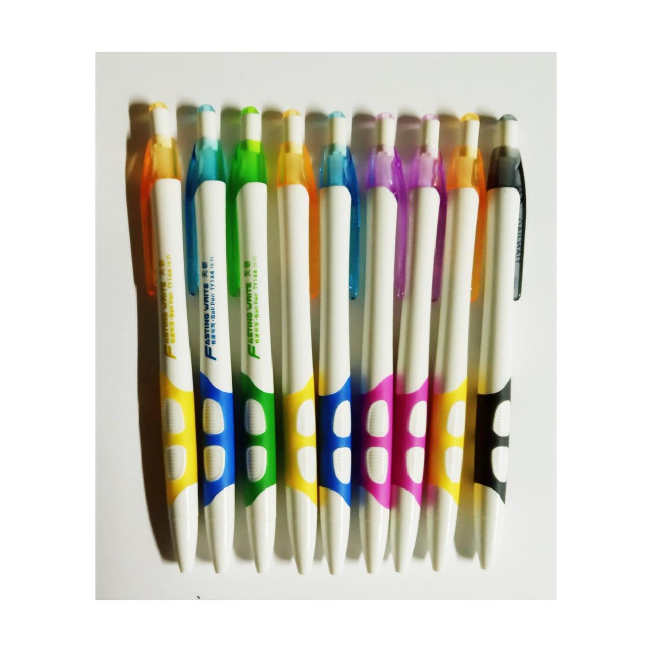 Шариковая ручка BMV, автоматическая, синяя