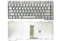 Клавиатура для ноутбука Toshiba Satellite A300 A305 A305D серая (9J.N9082.D0R)