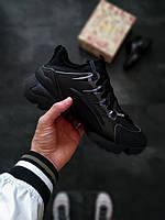Сникерсы женские Dior D-Connect черные 37
