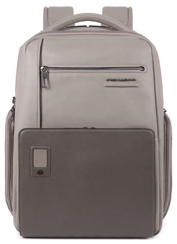 Рюкзак городской Piquadro 20л серый
