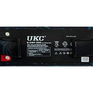 Аккумулятор Battery 12V 200A Ukc 180284