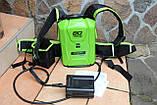 Аккумуляторная батарея  Greenworks Pro 80 V G80B10BP ( 2905607)  12.5 Ah (c энергией 900 Вт ч ) (ранцевая АКБ), фото 3