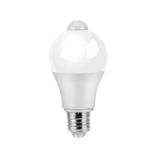 Лампа светодиодная с датчиком движения E27, 5Вт LED